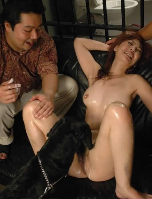 Asian sex with dog